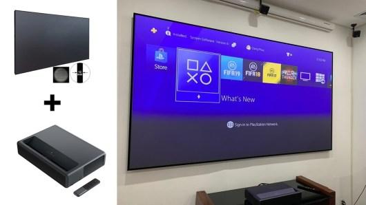Экран для ультракороткофокусного проектора