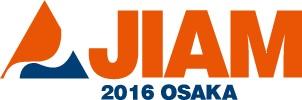 JIAM Osaka 2016 logo