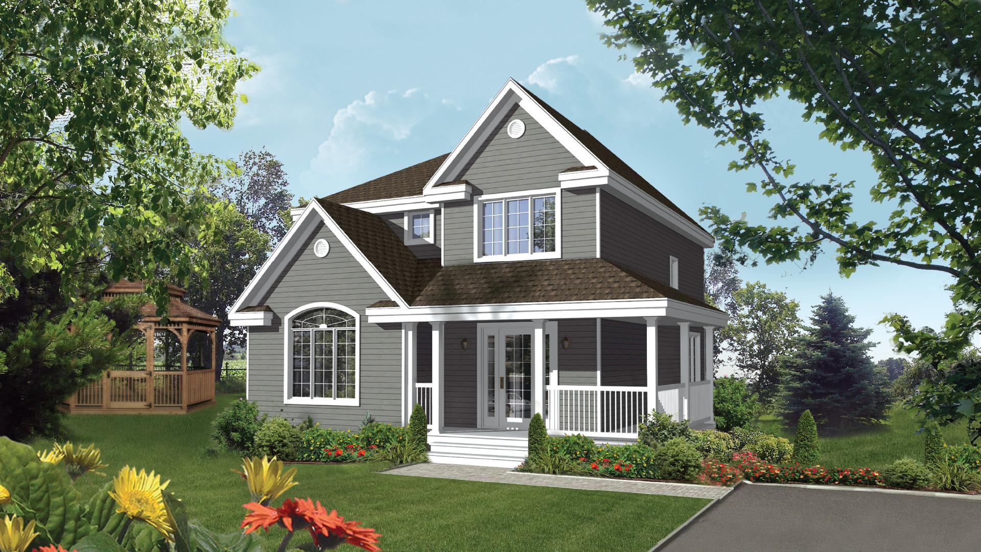 Modèle Champêtre   Maison champêtre   Pro-Fab constructeur de maisons modulaires et usinées