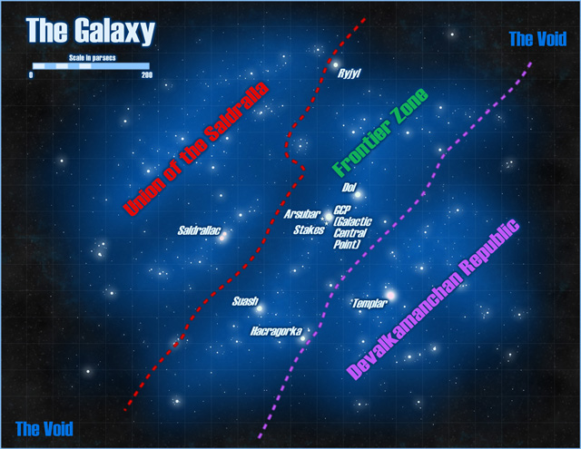 Bulldogs Galaxy Map