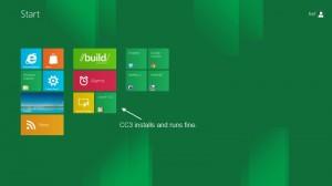 CC3 in Windows 8