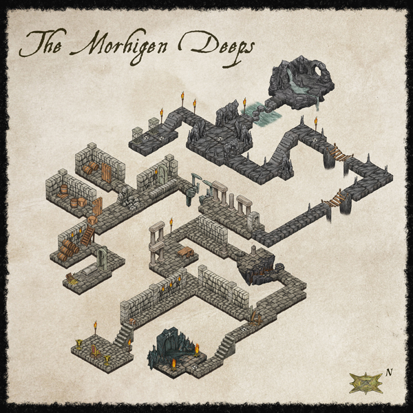 Isometric Dungeon style