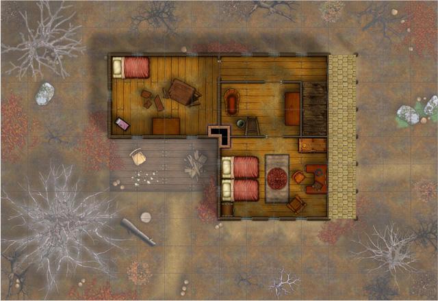 Flanagan Manor Upper Floor