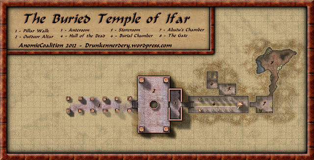 Buried Temple Of Ifar