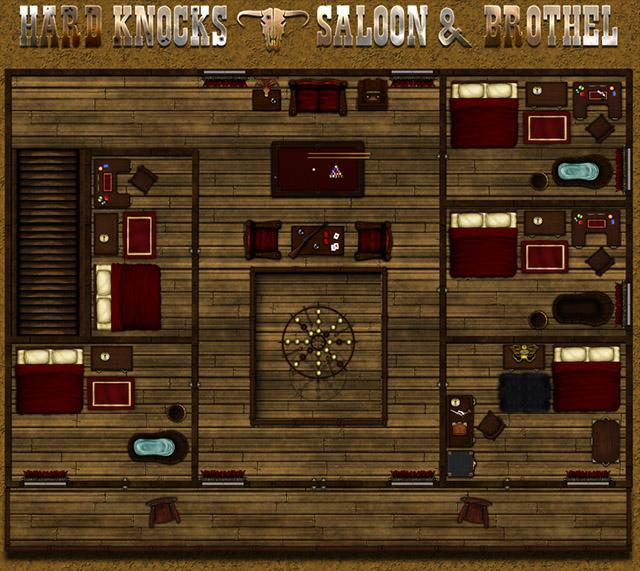 Hard Knocks Saloon and Brothel