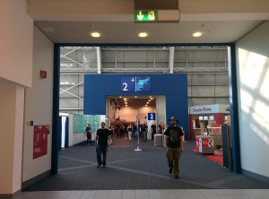 Spiel Hall Entrance
