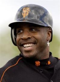 Remember how Barry Bonds used to rock the cross earrings ...