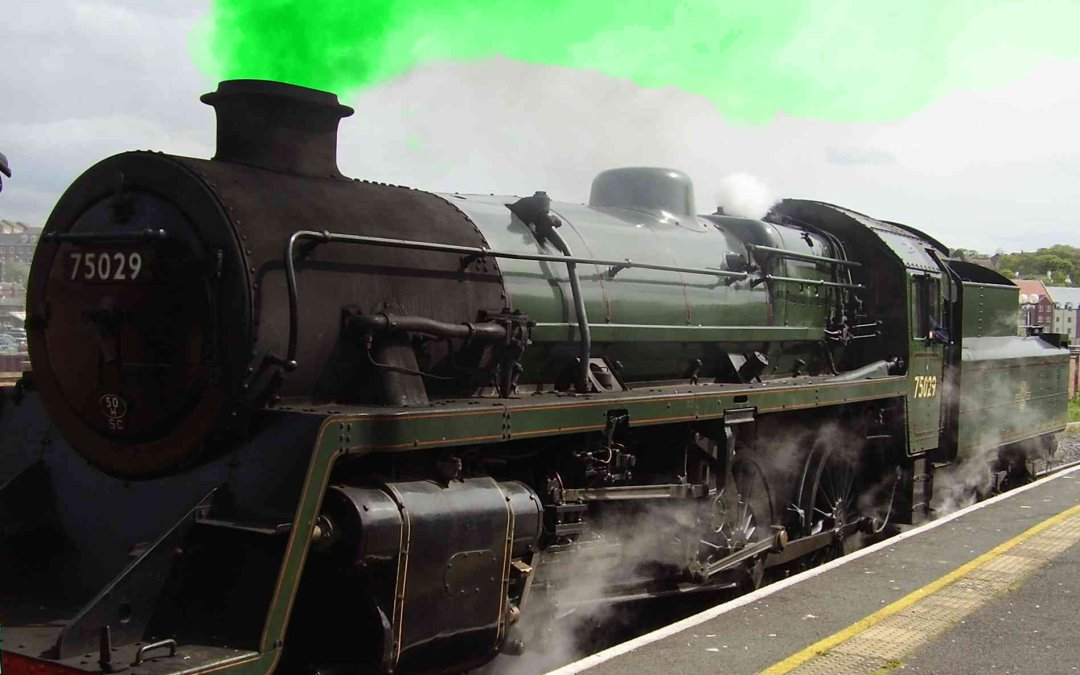 The Green Train has Left the Station – All Aboard!