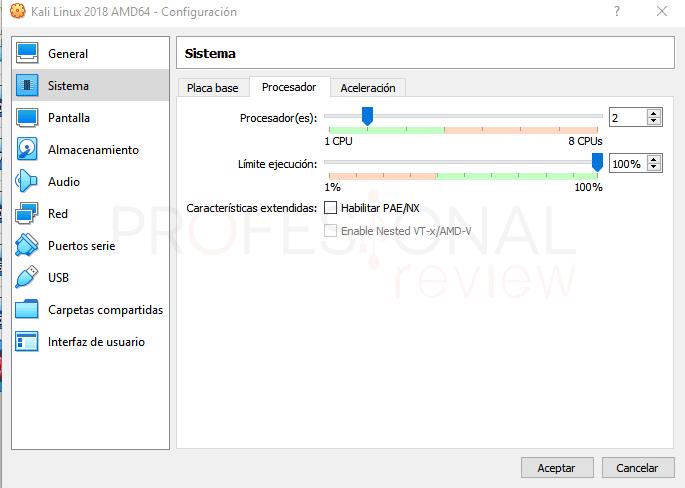 Instalar Kali Linux en VirtualBox paso 05
