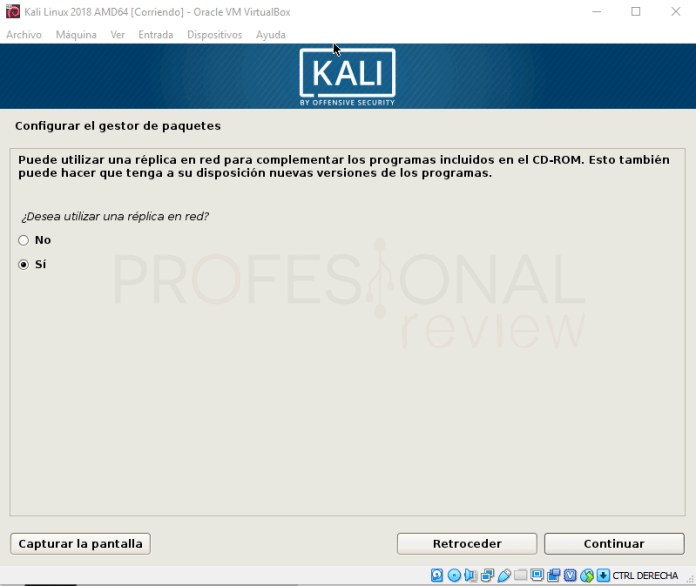 Instalar Kali Linux en VirtualBox paso 16