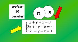 metodo de Gauss sistemas de ecuaciones 3x3 4x4