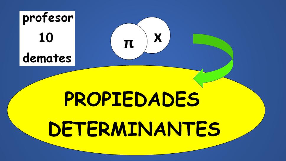 propiedades de los determinantes ejercicios resueltos pdf
