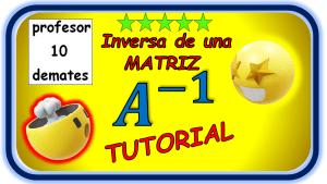 como calcular la inversa de una matriz 3x3 2x2 ejercicios resueltos