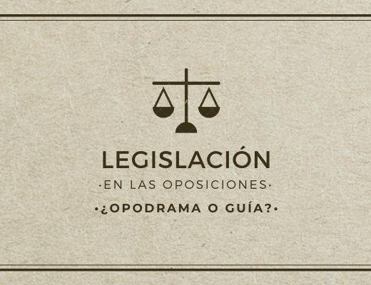LEGISLACIÓN PARA LAS OPOSICIONES DE SECUNDARIA