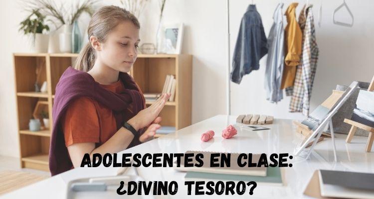 Profesora de secundaria y las clases con adolescentes