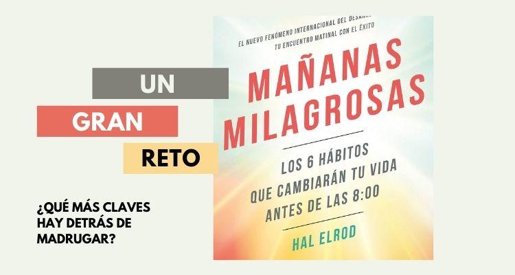 Libros para opositores. Mañanas milagrosas