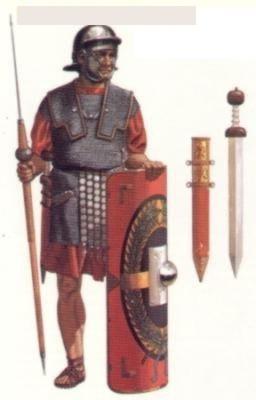 Resultado de imagen de legiones romanas en hispania