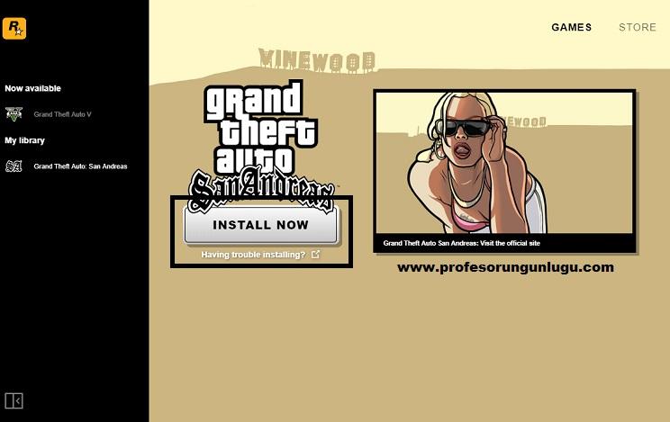 GTA: San Andreas Orijinal ÜCRETSİZ İndirin