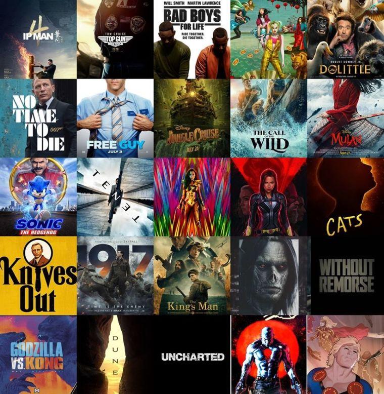 2020 Yılında Vizyona Girecek Yabancı Filmler