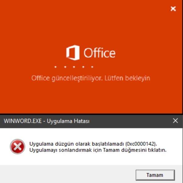 winword.exe uygulama hatası