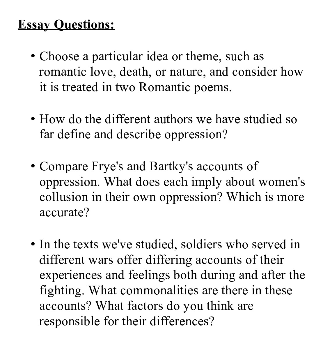 The Scarlet Letter Essay Prompts Questions For Essays Essay