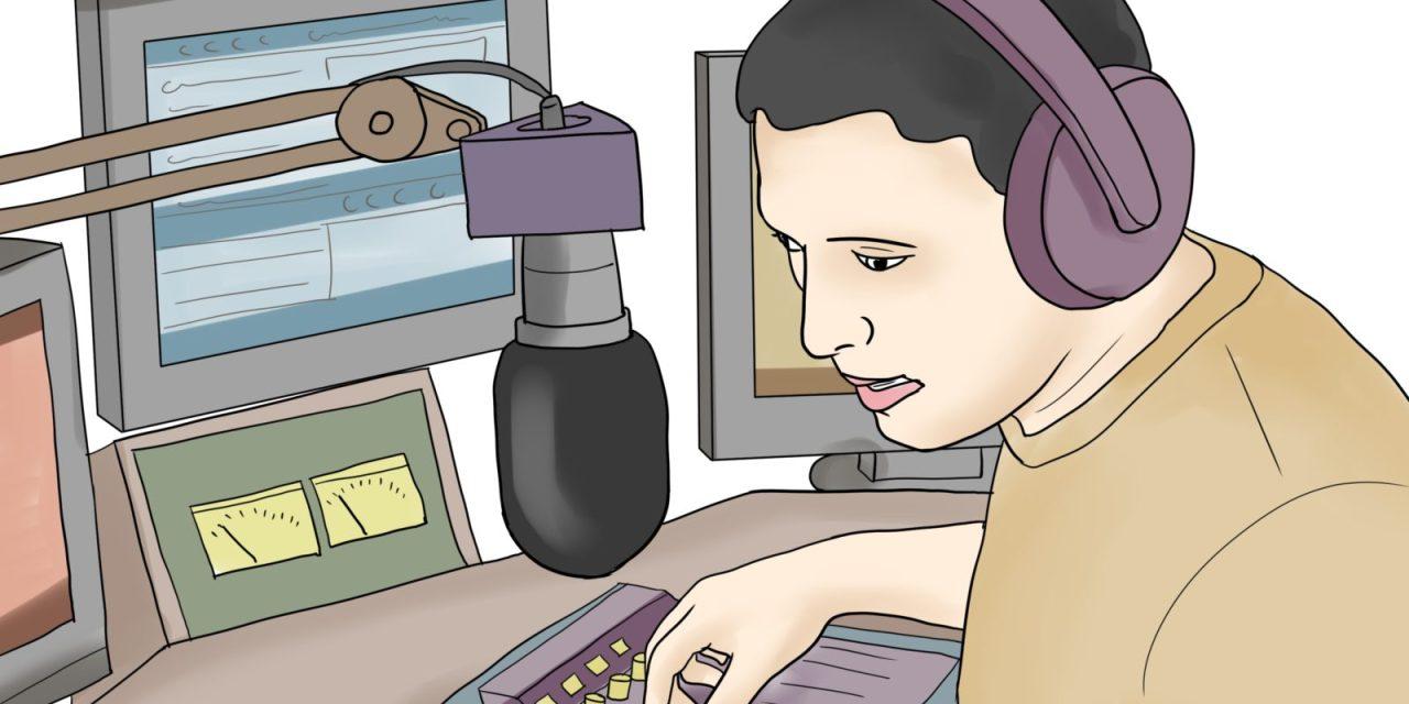 Le présentateur radio ne fait pas le spectacle !