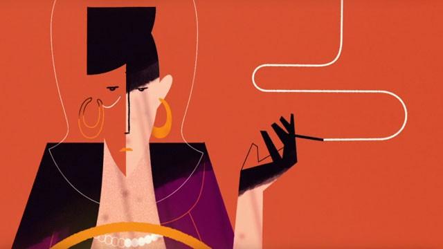 Troublante et superbe animation vidéo sur le drame d'une femme trompée