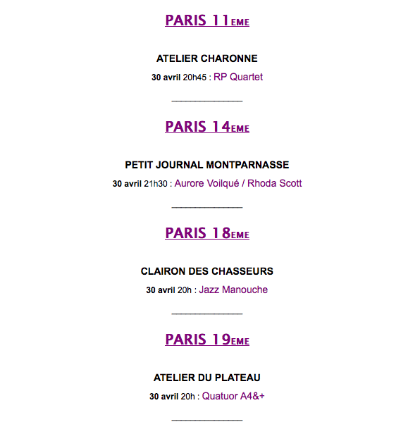 Paris 11-19