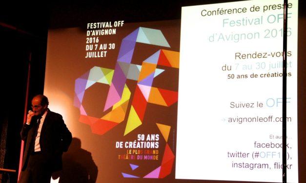 Le Off d'Avignon fête ses 50 ans avec 1400 spectacles et de grands chantiers