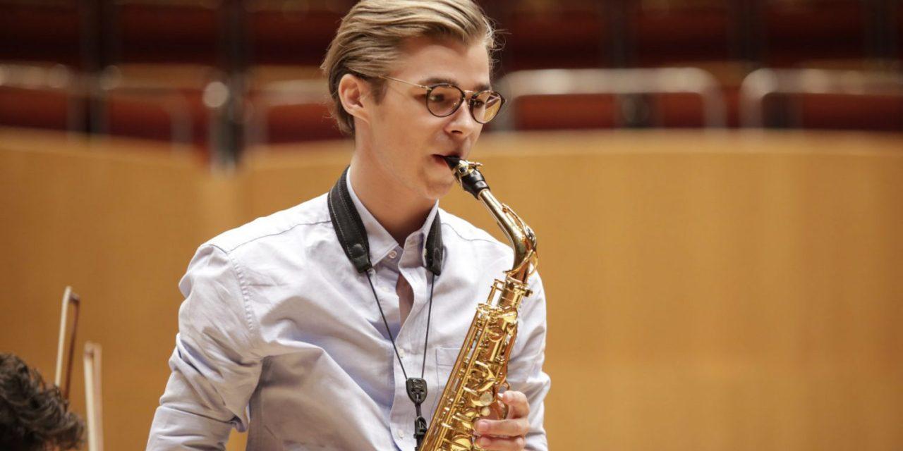 Vidéo. Le saxophoniste Łukasz Dyczko remporte l'Eurovision des jeunes musiciens