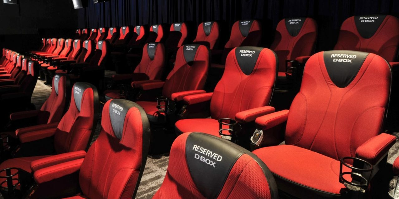 Cartographie des salles de cinéma par département en 2017