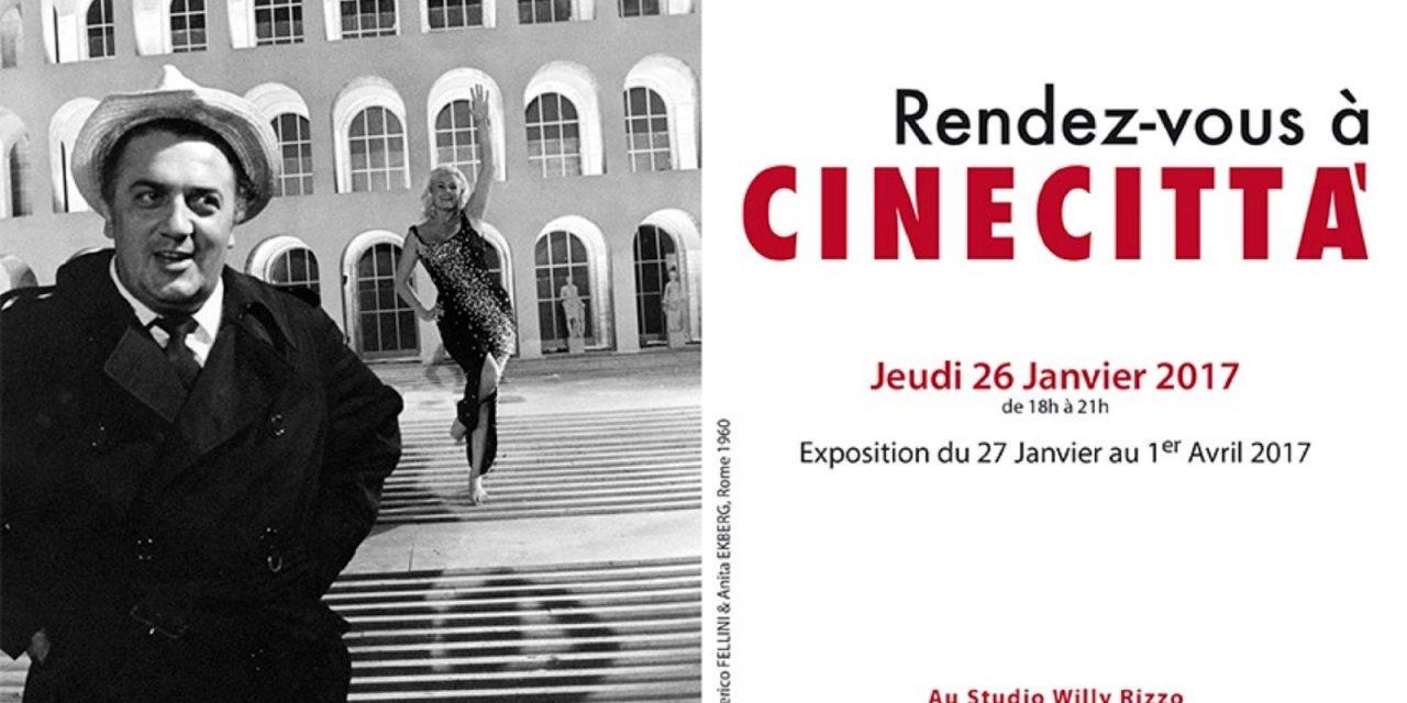 Paris – Expo photo du photographe de la Castafiore et des actrices de Cinecittà
