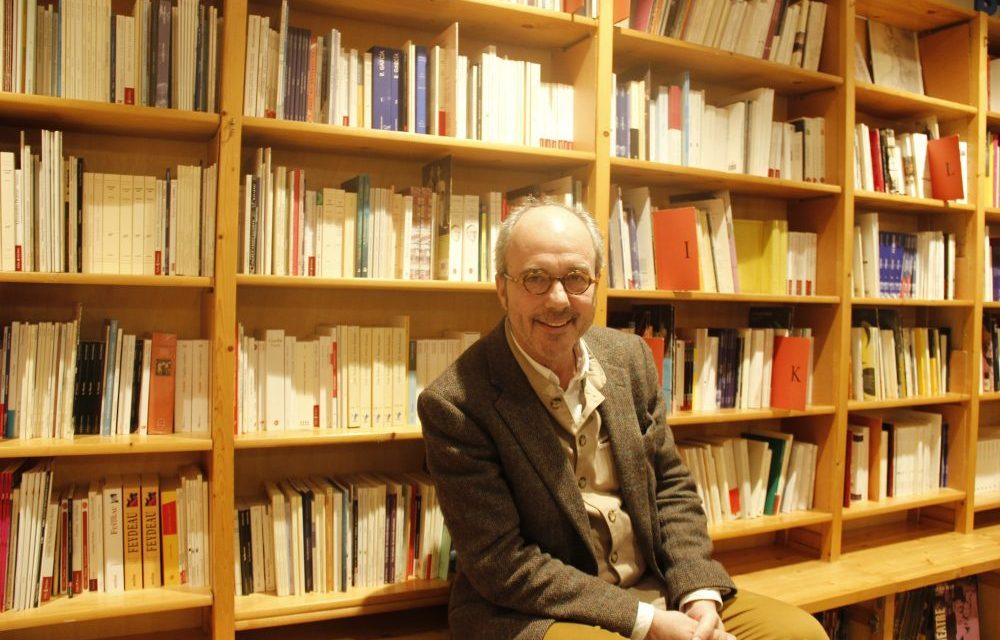 Dans l'antre de la prestigieuse Librairie Théâtrale avec Christophe Mory