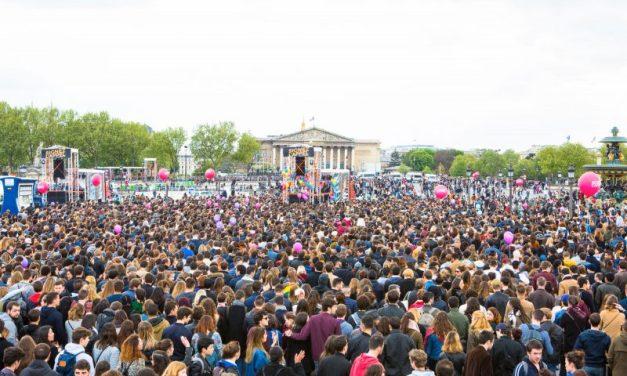 Paris – 17/09. Nouveau meeting-concert du «Printemps solidaire», place de la Concorde