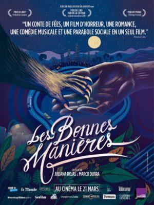Les bonnes manières, film fantastique de Marco Dutra et Juliana Rojas (affiche)