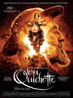 Terry Gilliam, L'Homme qui tua Don Quichotte, avec Jonathan Pryce et Adam Driver (affiche)
