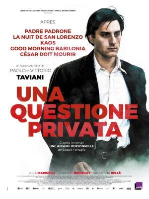 Frères Taviani - Una questione privata (affiche)