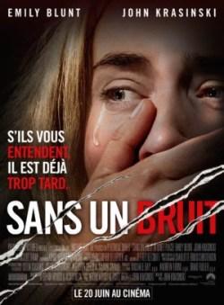 John Krasinski, Sans un bruit, avec Emily Blunt (affiche)