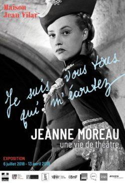 Exposition Jeanne Moreau à la Maison Jean-Vilar