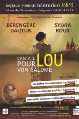 Cantate pour Lou von Salomé, Bérengère Dautun (affiche)