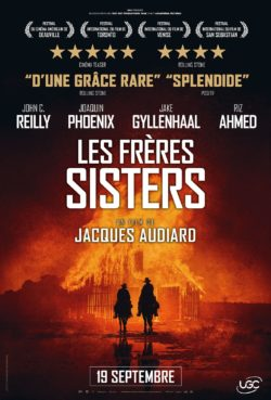 Jacques Audiard, Les Frères Sisters, affiche