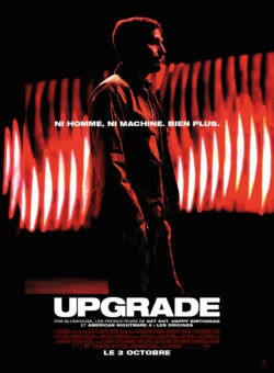 Leigh Whannell, Upgrade, film affiche