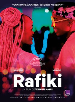 Wanuri Kahiu, Rafiki, avec Samantha Mugatsia, Sheila Munyiva (affiche film)