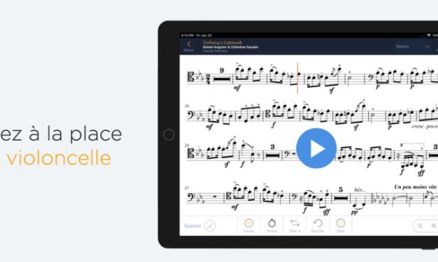 L'appli NomadPlay : répéter avec un orchestre chez soi