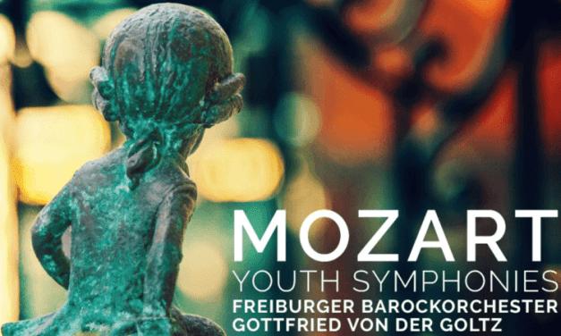 Sortie CD – Gottfried von der Goltz interprète les symphonies de jeunesse de Mozart