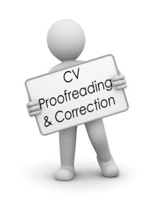 Cv proofreading and correction service