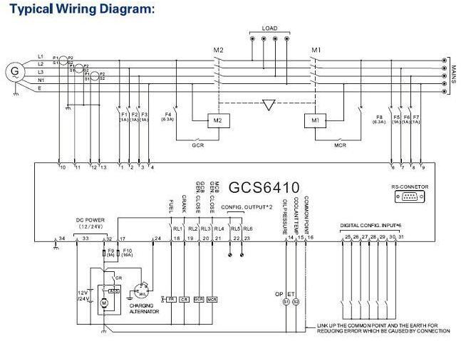 3 Phase / 1 Phase Marine Genset AMF Controller 300kw