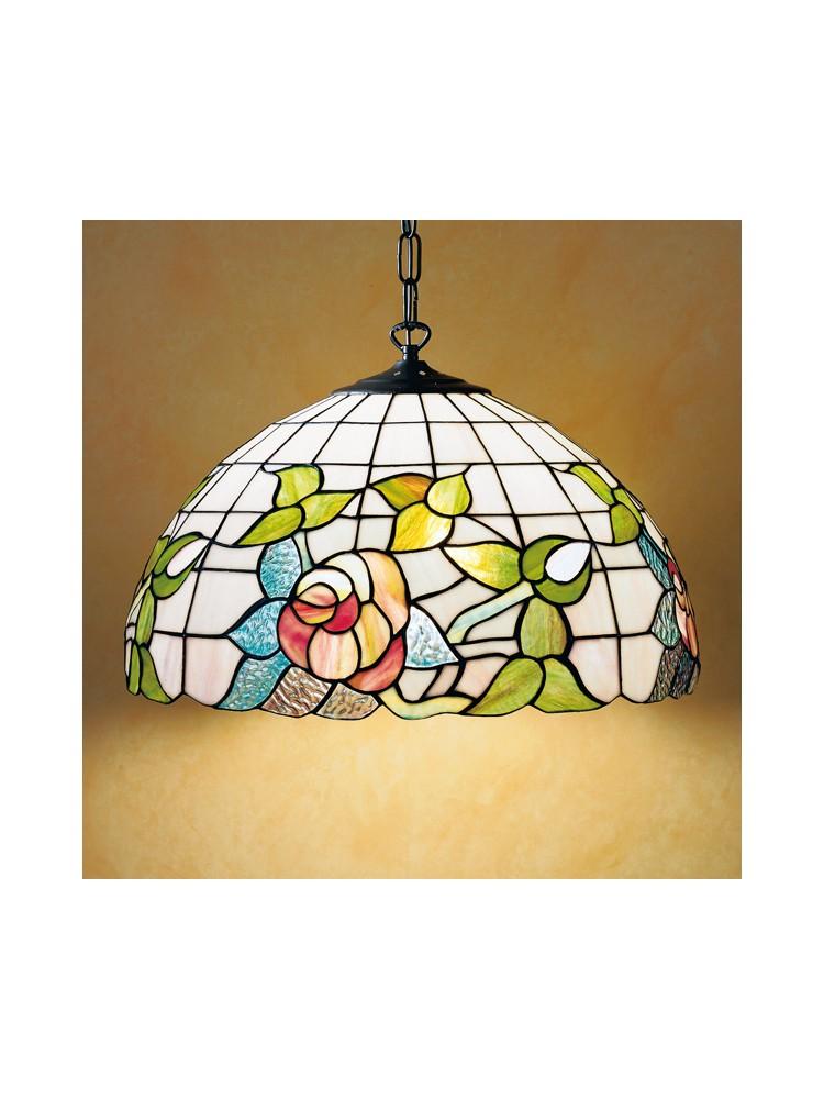 Lampadario a sospensione Tiffany in vetro  Illuminazione Cucina