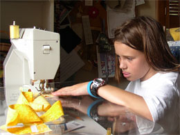 hailey sewing