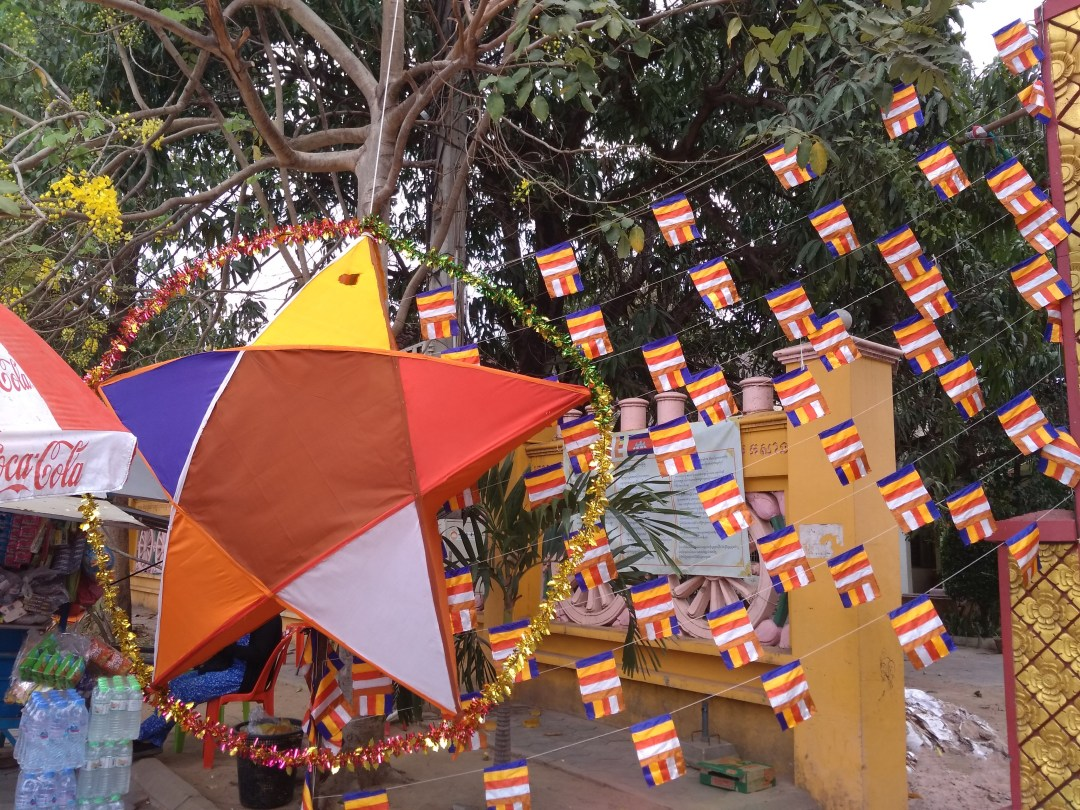 Decorations for Khmer New Year